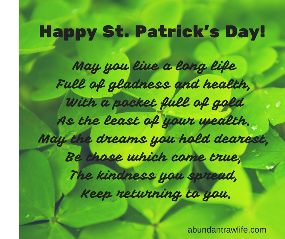 Irish Blessing 2016-3
