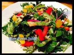 Raw Power Salad